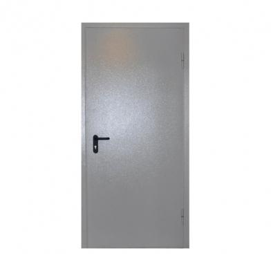 Дверь техническая одностворчатая, левая (1980х970) с наличником