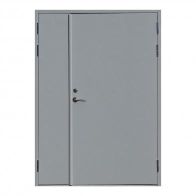 Тамбурные двери двухстворчатые глухие размер 2000*1230